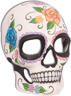 Day of the Dead Skull Mask