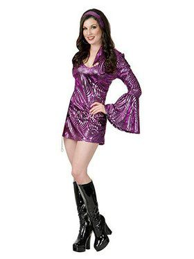 Dazzling Disco Diva Adult Costume