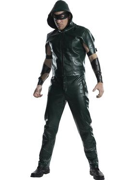 DC Comic Arrow Men's Costume