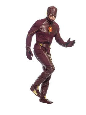 Mens Flash Costume for Halloween