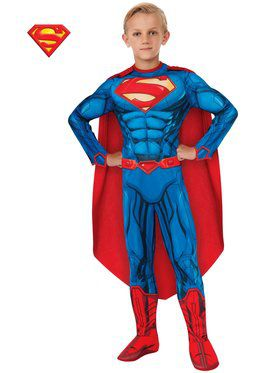 DC Comics Deluxe Superman Boy's Costume