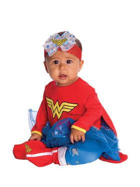 Wonder Woman Onesie Newborn (0/6M) for Halloween