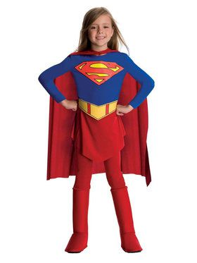 DC Comics Supergirl Costume For Toddlers