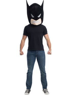 DC Comics Superheroes Batman Mascot Mask