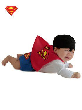 Dc Comics Superman Diaper Cover Costume Toddler