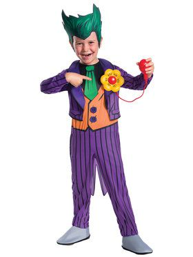 DC Comics - The Joker Deluxe Child Costume
