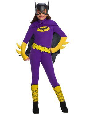 DC Superheroes Deluxe Batgirl Costume for Girls