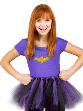 DC Super Hero Girl's Batgirl Girl's Tutu Kit