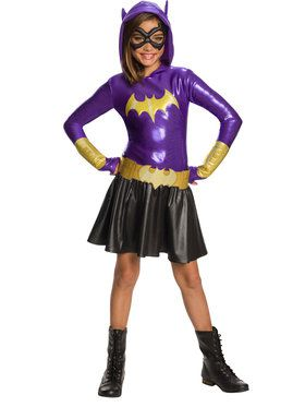 DC Super Hero Girls: Hoodie Dress - Batgirl