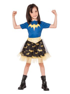 DC Super Hero Batgirl Skirt For Children