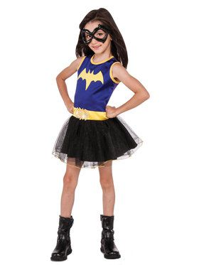 DC Super Hero Batgirl Tank Dress For Children