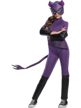 DC Superheroes Catwoman Costume for Kids