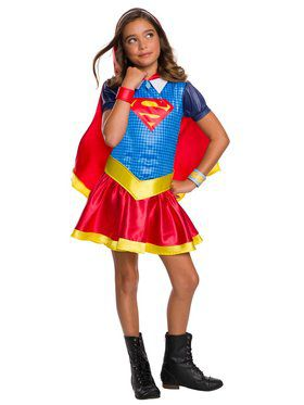 DC Super Hero Girls: Hoodie Dress - Supergirl