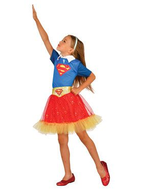 DC Super Hero Supergirl Skirt For Children