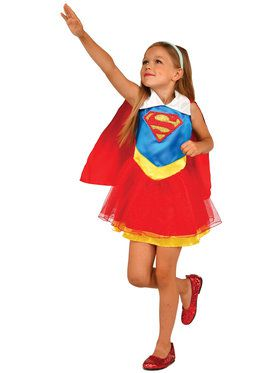 DC Super Hero Supergirl Tank Dress For Children