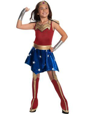 DC Superheroes Wonder Woman Deluxe Costume for Girls