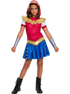 DC Super Hero Girls: Hoodie Dress - Wonder Woman