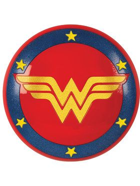 DC Heroes Gold Wonder Woman Shield