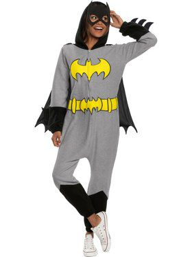 DC Superheroes Batgirl Onesie Costume for Adults