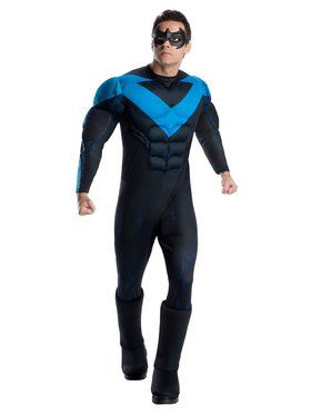 DC Superheroes Deluxe Nightwing Costume