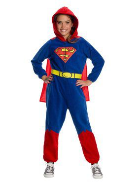 DC Superheroes Superman Onesie Costume for Girls