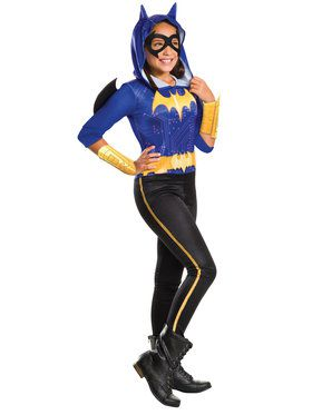 DC SuperHero Batgirl Girl's Costume
