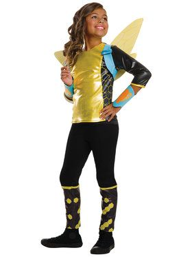 DC SuperHero Bumblebee Deluxe Girls Costume
