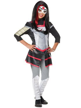 DC SuperHero Katana Deluxe Girls Costume