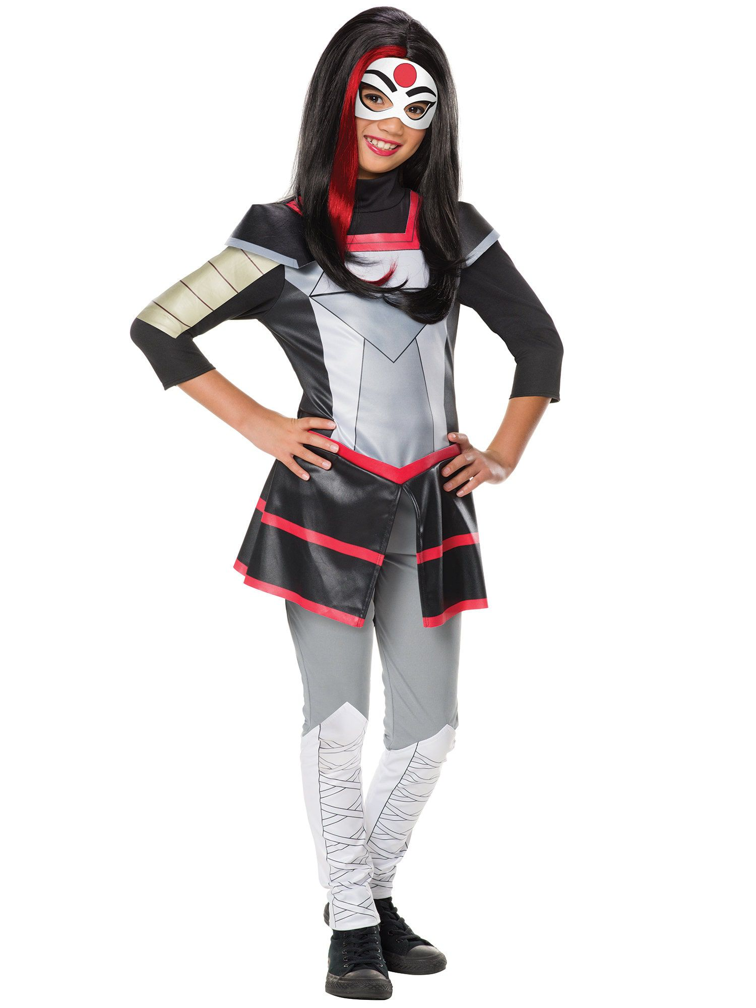Dc Superhero Katana Deluxe Girls Costume Girls Costumes