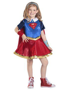 Deluxe Supergirl DC Superhero Girls Costume