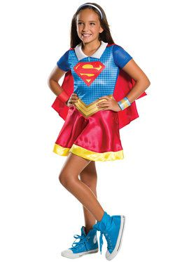 DC SuperHero Supergirl Girl's Costume