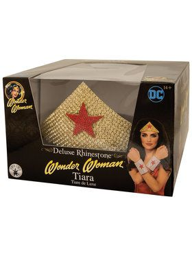 DC SUPERHERO - Wonder Woman Deluxe Tiara
