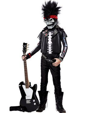 Dead Man Rockin Boy's Costume
