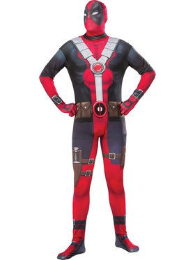 Deadpool 2nd Skin Men's Costume