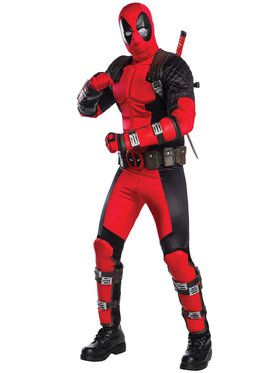 Deadpool Grand Heritage Adult Costume
