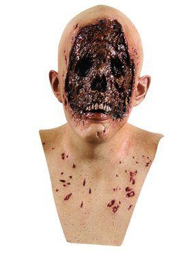 Decayed Face Scary Over Head Mask