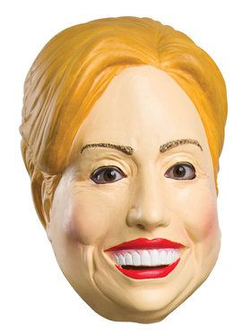Deleter Of The Free World Hillary Clinton Mask