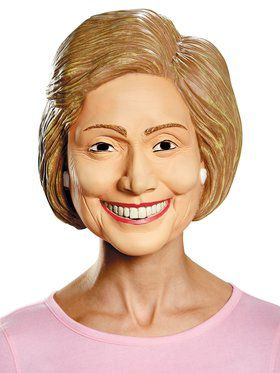 Deluxe Adult Hillary Clinton Mask