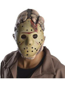 Latex Adult Deluxe Jason Mask