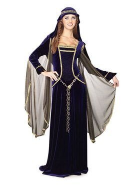 Renaissance Queen Deluxe Costume for Adult