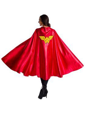 Adult DC Comics Superheroes Wonder Woman Deluxe Cape Accessory