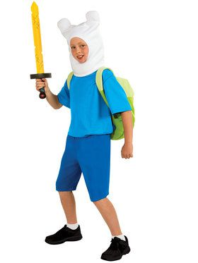 Deluxe Adventure Time Finn Boy's Costume