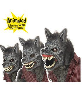 Deluxe Ani-motion Werewolf Mask