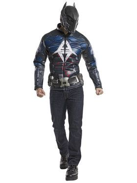 Deluxe Batman Arkham Knight Men's Costume