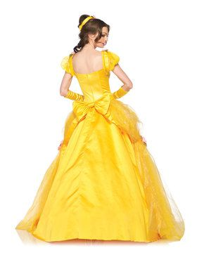 Deluxe Beauty and the Beast's Princess Belle Ball Gown Disney Adult Costume