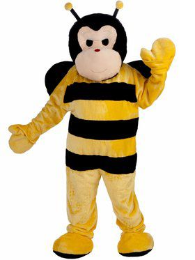 Deluxe Bee Mascot Mens Costume
