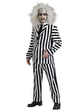 Deluxe Beetlejuice Adult Costume