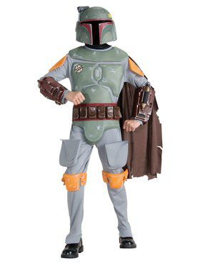 Deluxe Boba Fett Child Costume