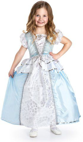 Deluxe Cinderella Princess Girl's Costume