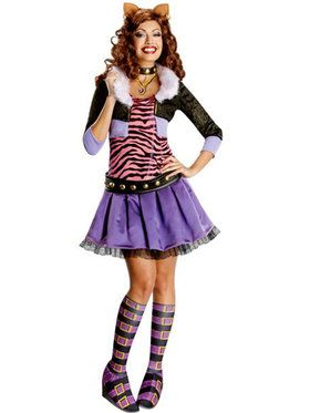 Deluxe Clawdeen Wolf Women's Costume